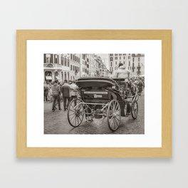 Piazza di Spagna - Rome, Italy Framed Art Print