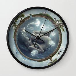 Jelly Ninfae Wall Clock