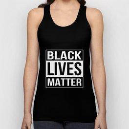 black lives matter car Unisex Tank Top