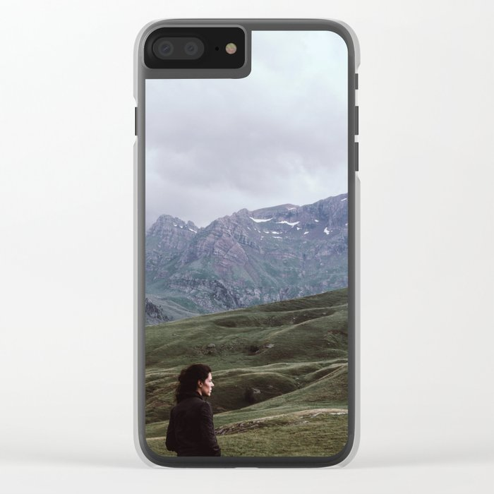 mountain dreamer Clear iPhone Case
