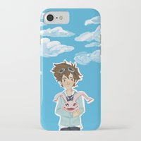digimon iPhone & iPod Cases featuring Digimon Tri by lulovera