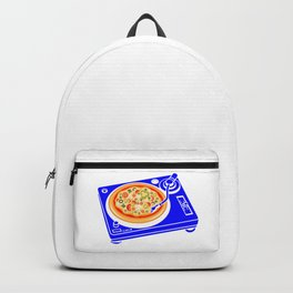 Pizza Scratch Backpack