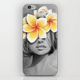 Araliya flower iPhone Skin