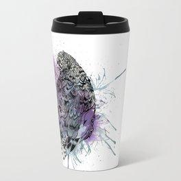Patterned Quail Travel Mug