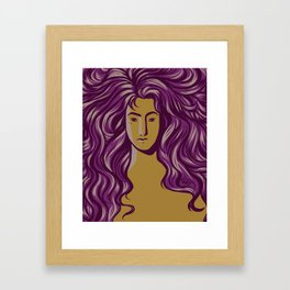 'Cause You're Worth It Framed Art Print