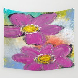 GARDEN DELIGHT Wall Tapestry