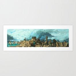 Ancient World Metropolis Art Print