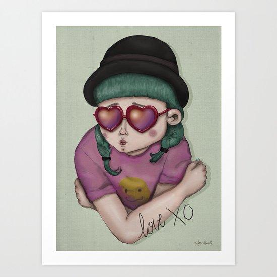 Love XO Art Print