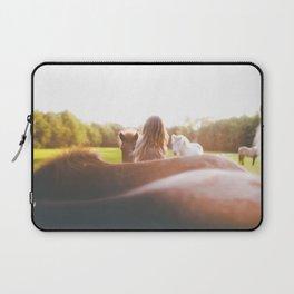 Horse whisperer Laptop Sleeve