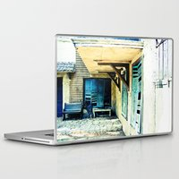 rustic Laptop & iPad Skins featuring Rustic by Kim Ramage