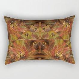 Autumn Twirled Rectangular Pillow