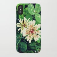 clover iPhone & iPod Cases featuring Clover by Amber Dawn Hilton