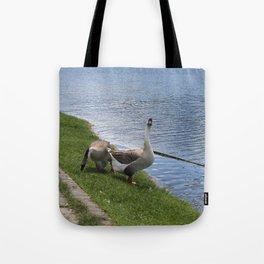 big birds Tote Bag