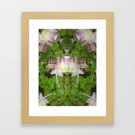 Columbine Chandelier Framed Art Print