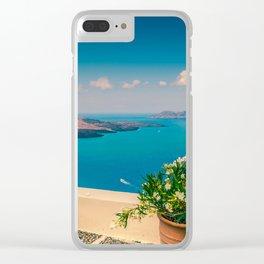 Santorini i Clear iPhone Case