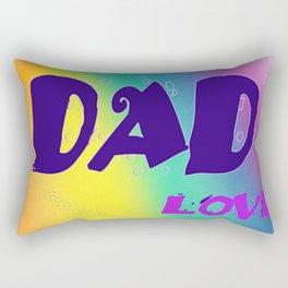 Dad Love Rectangular Pillow