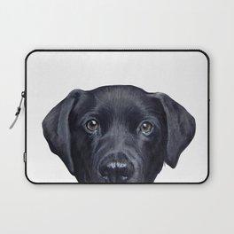Lablador Dog illustration original painting print Laptop Sleeve