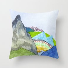 Landscapes / Nr. 6 Throw Pillow