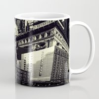 cityscape Mugs featuring Cityscape by Chris Lord