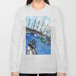 Boats at the Marina Long Sleeve T-shirt
