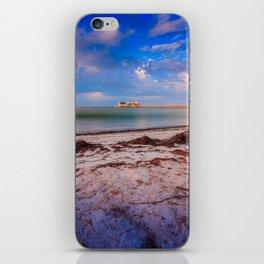 City Pier on Anna Maria Island iPhone Skin