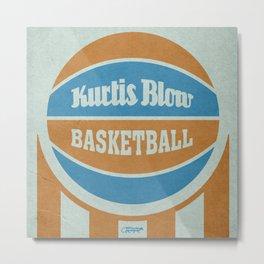 7 inch series: Kurtis Blow - Basketball Metal Print
