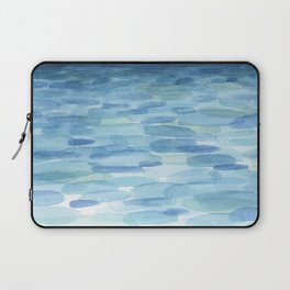 Sunset and Ocean Watercolor Laptop Sleeve