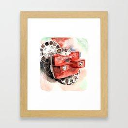 Vintage gadget series: View-Master Model G Framed Art Print