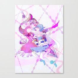 Kyoko x Sayaka Canvas Print