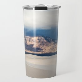 Sunlight on San Andres - Desert Scenery at White Sands New Mexico Travel Mug