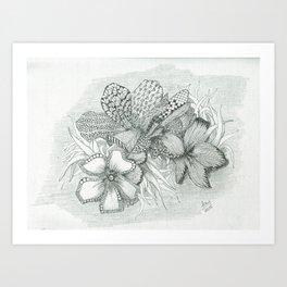 Just a bouquet Art Print