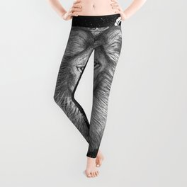 Zodiac sign Leo Leggings