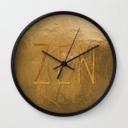 Z E N Wall Clock