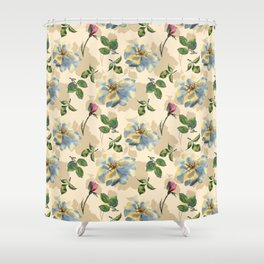 The Glade of Roses Shower Curtain