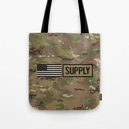 Supply (Camo) Tote Bag