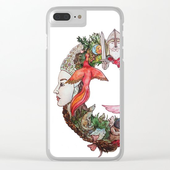 Fable Clear iPhone Case