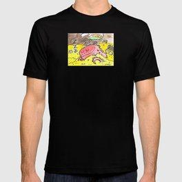 Sleeping Dragon (Watercolor and Pen) T-shirt