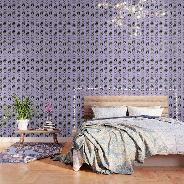 Beth's Nest Pattern Wallpaper