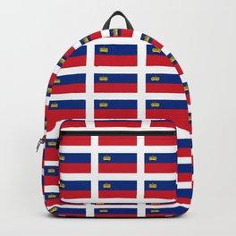 Flag of liechenstein -Liechtensteiner,liechtensteinerisch,vaduz,schaan,german Backpack