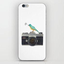 Watch the birdie iPhone Skin