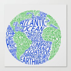 Oceanography Canvas Print
