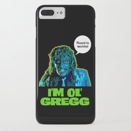 Old Gregg iPhone Case