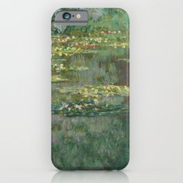 Monet, Le Bassin des Nympheas, 1904 iPhone Case