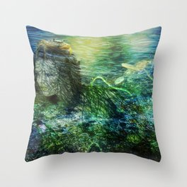 As to the Sea Throw Pillow