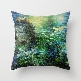 As to the Sea Throw Pillow