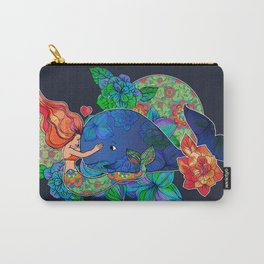 The Mermaid and the Whale Carry-All Pouch