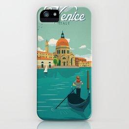 Vintage poster - Venice iPhone Case