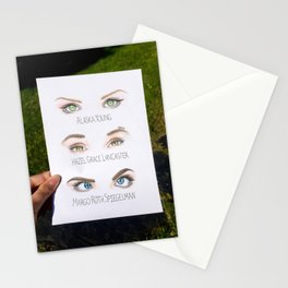 John Green Book Character Eyes Stationery Cards