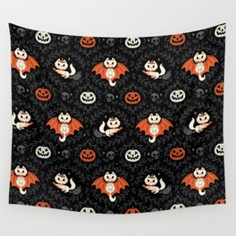 Spooky Kittens Wall Tapestry