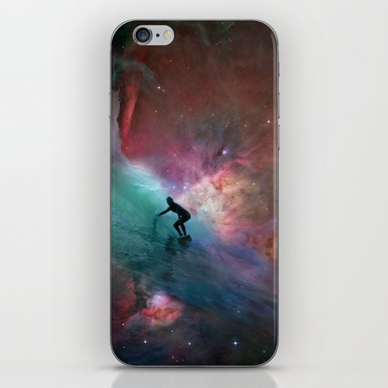 Nebulous Surfing iPhone & iPod Skin